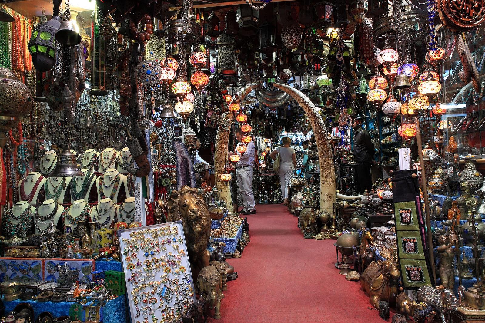 Рынок в районе Матрах