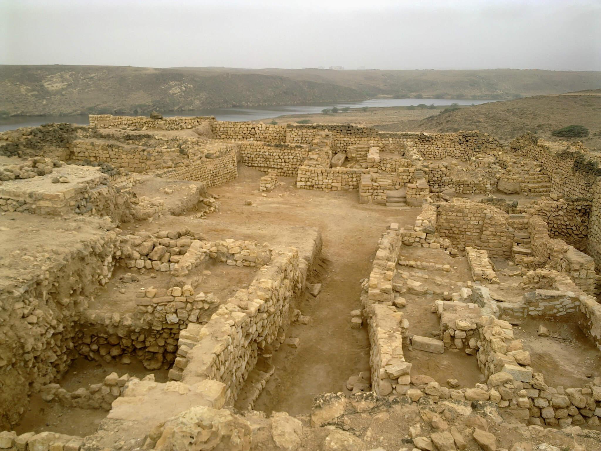Развалины дворца царицы Савской